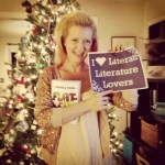 "Author Jessica Park & her smash hit ""Flat-Out Love"" celebrating the holidays with the Lovers!"