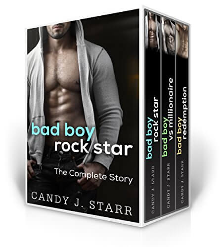 Bad Boy Rockstar The Complete Story by Candy J Starr