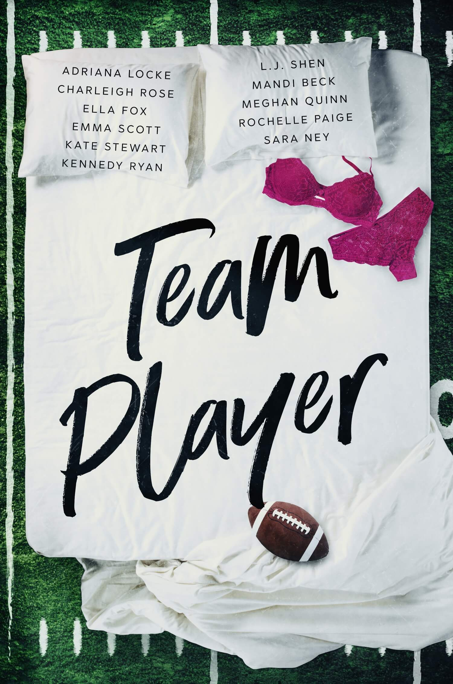 * Cover Reveal * Team Player: A Christmas Anthology * Coming December 14th *