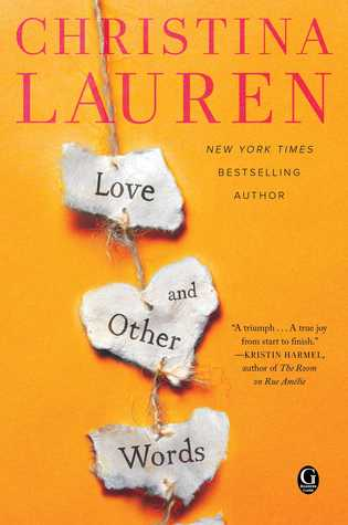 ⭐️Release Day Book Review⭐️ 5 Stars to Love and Other Words by Christina Lauren
