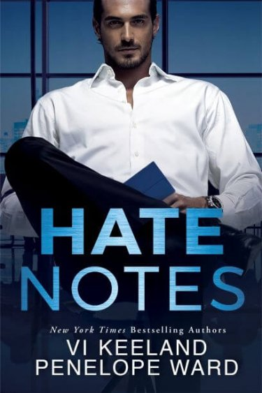 Cover Reveal * Hate Notes by Penelope Ward & Vi Keeland