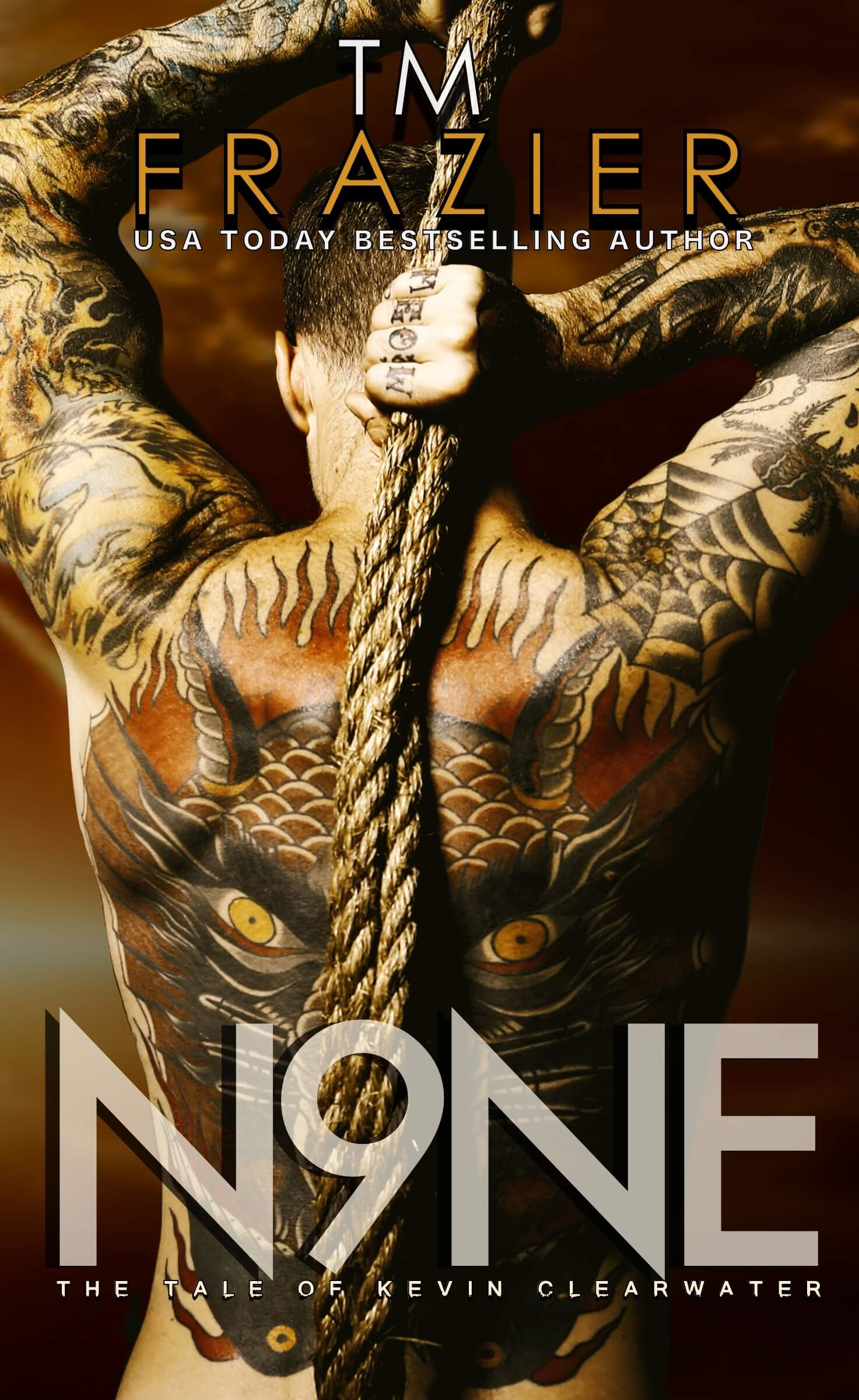 Cover Reveal * Nine: The Tale of Kevin Clearwater by TM Frazier * Coming June 18th * PreOrder Now!
