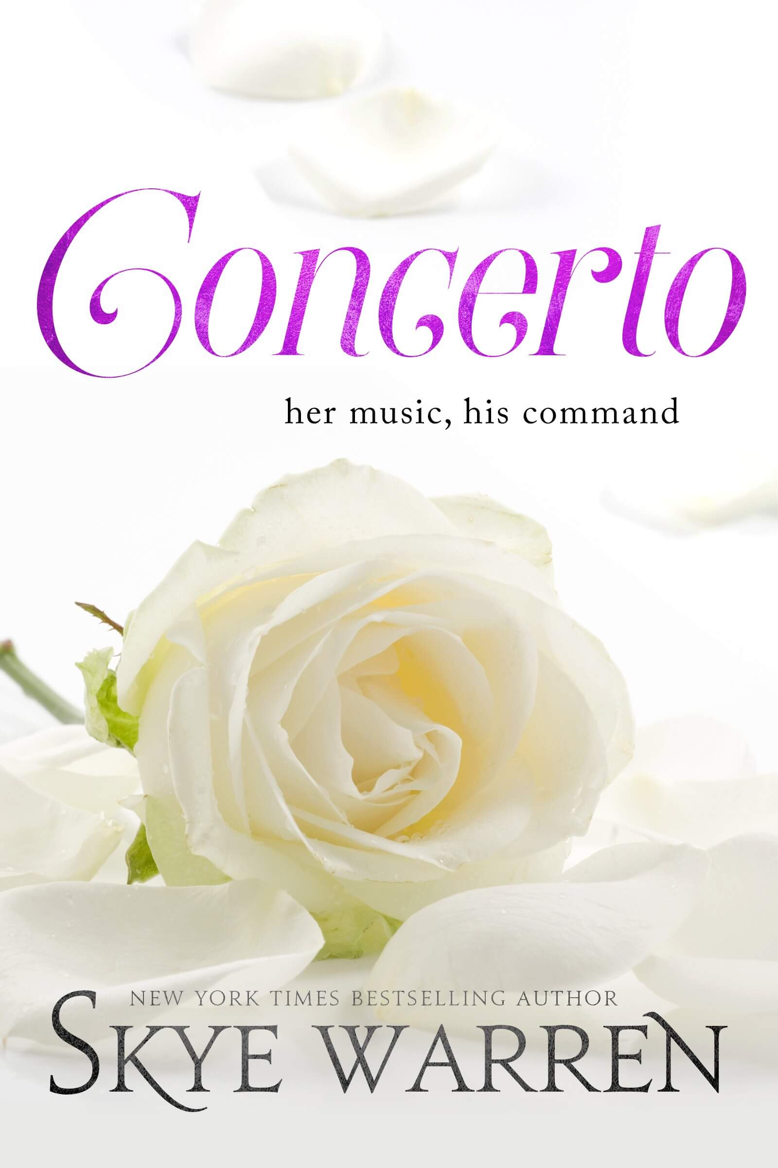 Cover Reveal * Concerto (North Security, book 2) by Skye Warren * Coming May 14th * Pre Order Now