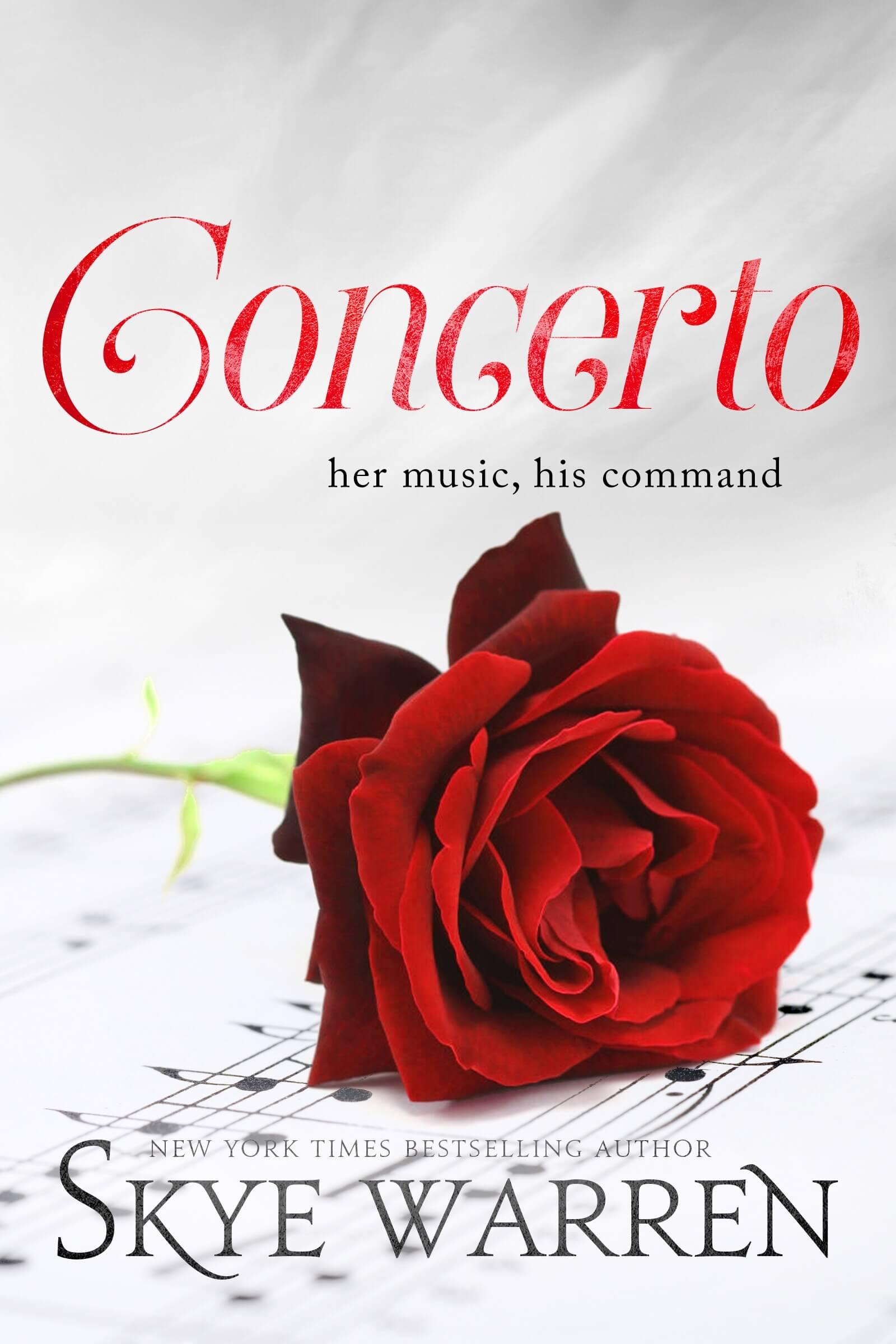 Blog Tour * Concerto (North Security book 2) by Skye Warren * Excerpt * Book Review