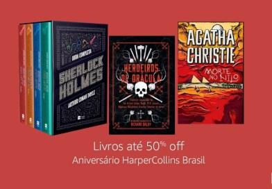 PROMOÇÃO | Até 50% de desconto nos livros da HarperCollins Brasil