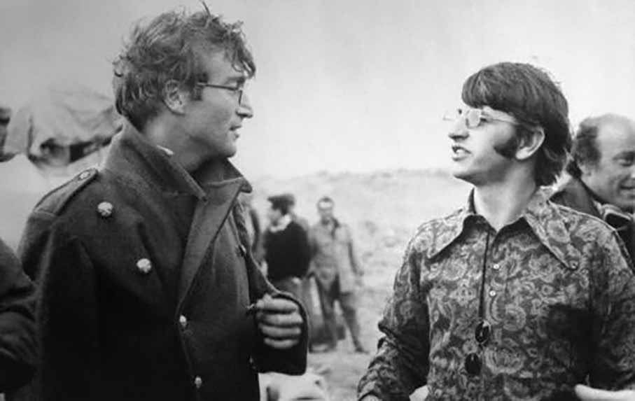 John Lennon Ringo Star Almería
