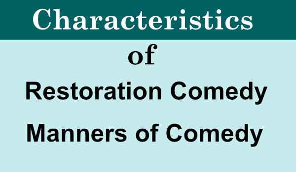 Restoration Comedy