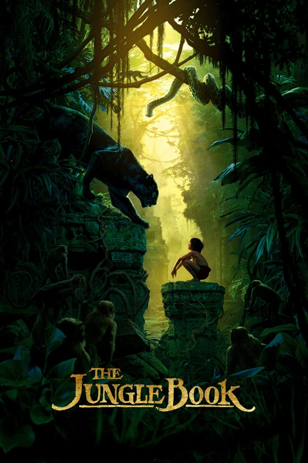 "Poster for the movie ""The Jungle Book"""