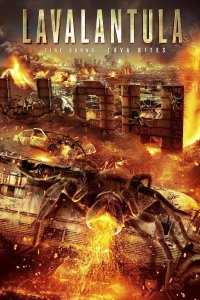 "Poster for the movie ""Lavalantula"""