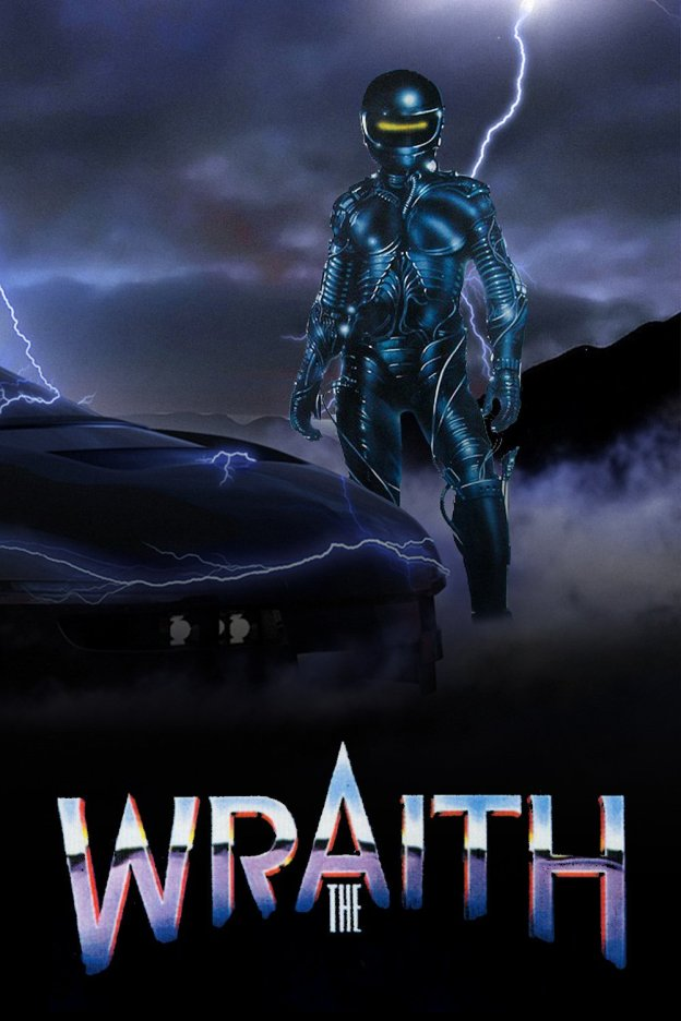 "Poster for the movie ""The Wraith"""
