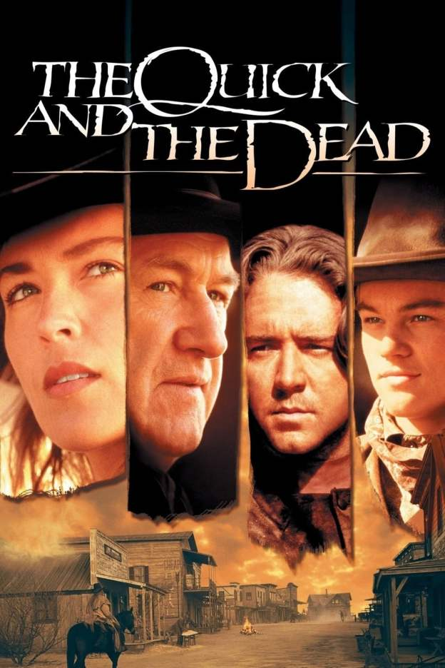 """Poster for the movie """"The Quick and the Dead"""""""