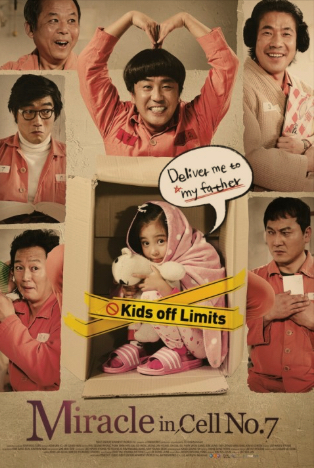 Korean Movie Review : Miracle In Cell No.7 –– A Heartwrenching Movie
