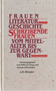 Gnüg+Möhrmann. 1985. Frauen Literatur Geschichte