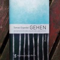 Tomas Espedal: Gehen oder die Kunst, ein wildes und poetisches Leben zu führen Matthes & Seitz Verlag