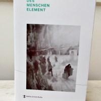 Ellen Hinsey: Des Menschen Element Matthes & Seitz Verlag