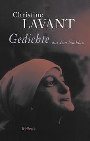 Lavant_Gedichte aus dem Nachlass _ Cover