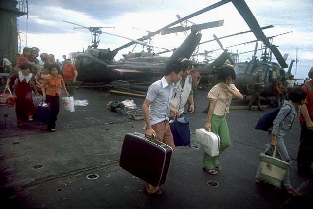 Vietnam Flüchtende