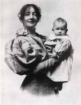 Dagny Juel mit Sohn Zenon