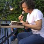 """Axel Roitzsch las aus seiner Novelle """"Der Redner"""", die in Ulm Vorpremiere feierte."""