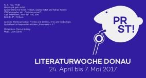 Fr. 5. Mai, 19:30 Mehr Lyrik geht nicht! Lyrikerabend