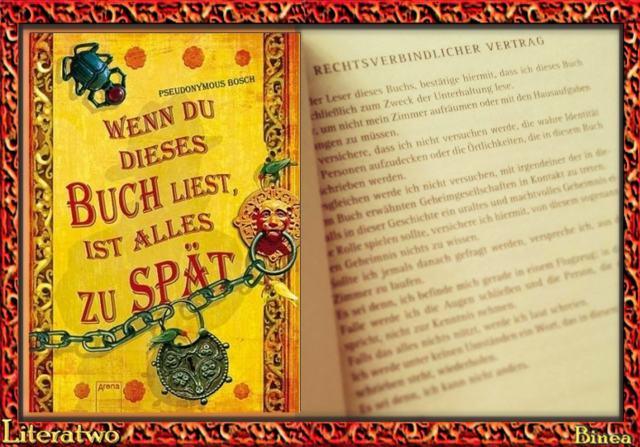 Pseudonymous Bosch - Rechtsverbindlicher Vertrag