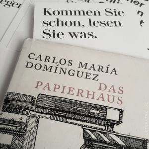Das Papierhaus ~ Carlos María Domínguez
