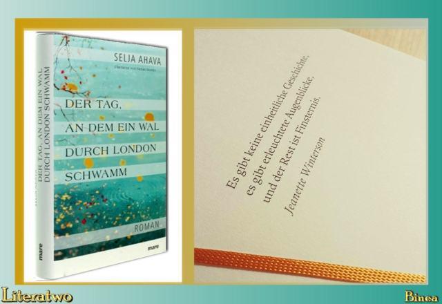 Literatwo: Der Tag, an dem ein Wal durch London schwamm ~ Selja Ahava