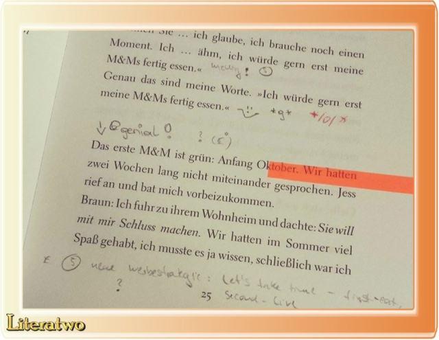 Wo ein bisschen Zeit ist ~ Emil Ostrovski - Blick ins Buch
