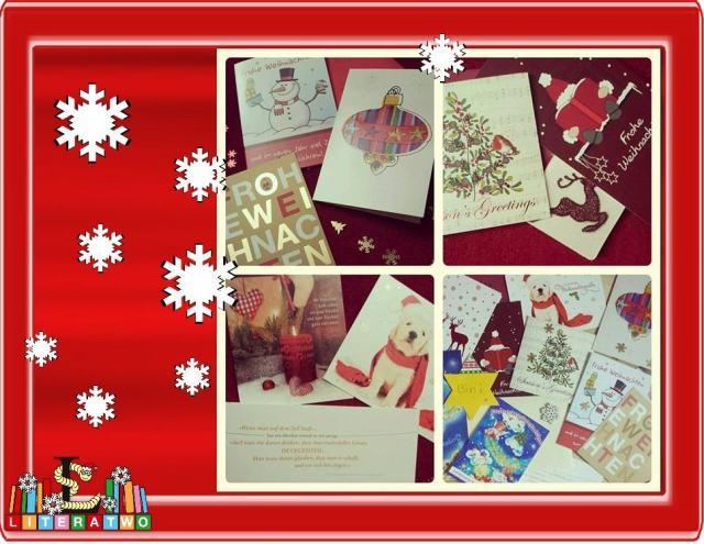 Literatwo - Weihnachtskarten