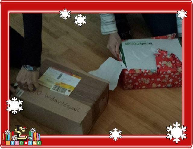 LovelyBooks Weihnachtswichteln - unsere Geschenke
