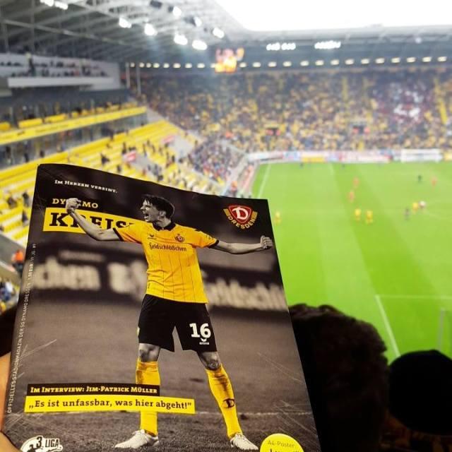 """Stadionmagazin """"Kreisel"""" - Dynamo Dresden"""