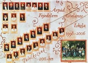 2006-ban végzett tanulók és tanáraik