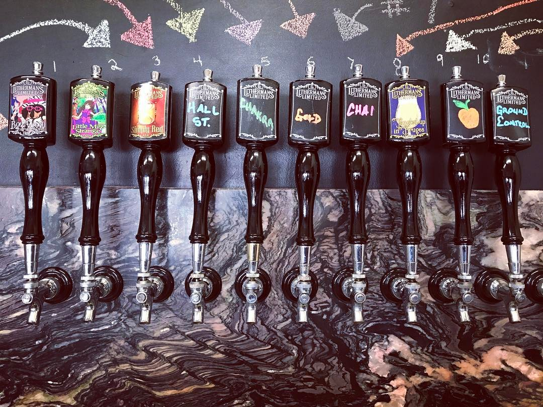 Starting today with 10 beers on tap. We are on the last keg of Lil Peach of My Heart Sour Blonde Ale.  When that kicks we will be tapping a small batch of Lavender Hill Saison. #lithermans #concordNhbrewed #nhbeer #howmuchcanyoucarry #MHPlikes flowers