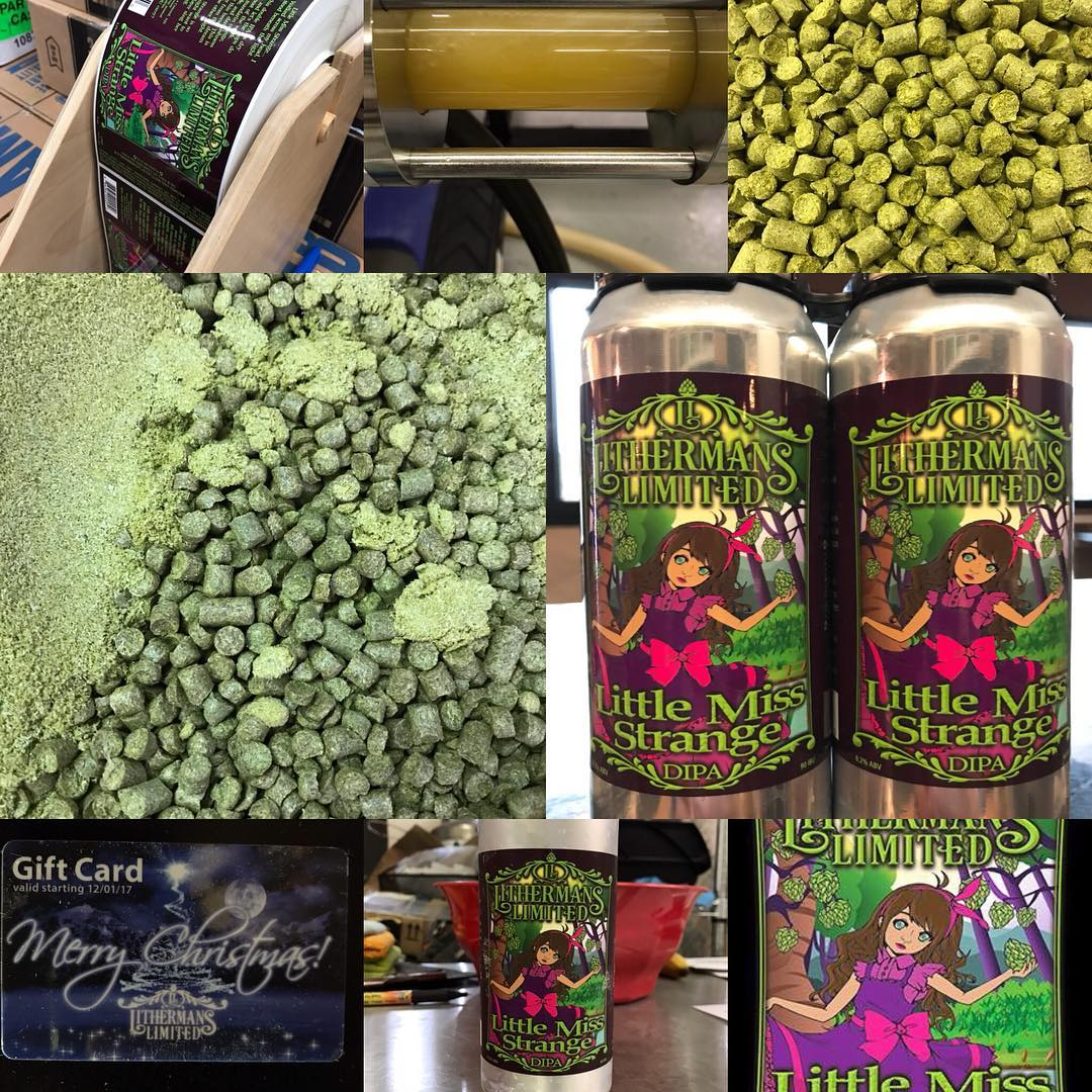 Tasting room opens at 4pm today! We have 24 cases of Little Miss Strange DIPA and a few cases left if Lil Peach of My Heart. We also have 6 beers on tap for pints, tasters and Growlers. #lithermanslimited #concordnh #HowMuchCanYouCarry #nhbrewers#concordnh