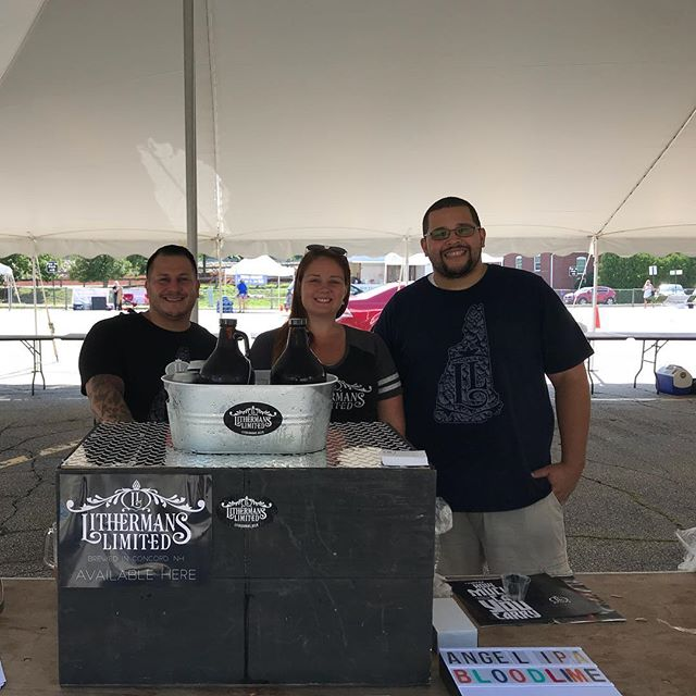 Getting ready for the brew fest! #lithermanslimited #manchesterbrewfestnh