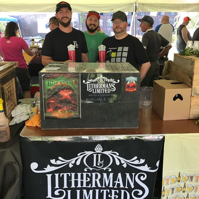 Getting ready for the Claremont Brewfest!