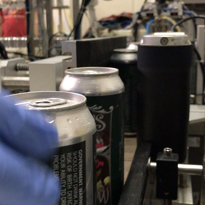 Canning day here at the brewery. #nhbrewers #lithermanslimited