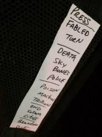 Anti-Flag - Bovine Sex Club, Toronto - June 4th, 2015 - photo by Mike Bax (iPhone shot)
