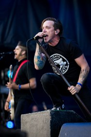 Billy Talent Heavy Montreal a Parc Jean Drapeau a Montreal, Quebec, Canada PHOTO BY TIM SNOW