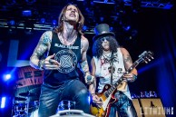 Slash with Myles Kennedy performing at Sound Academy in Toronto
