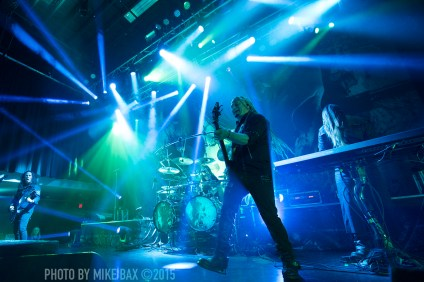 Kamelot - London Music Hall, Canada - November 26th, 2015 - photo by Mike Bax