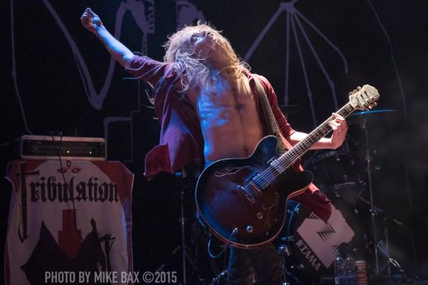 Tribulation - The Opera House, Toronto - November 1st, 2015 Photo by Mike Bax
