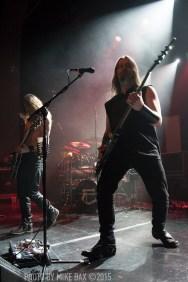 Enslaved - Danforth Music Hall, Toronto - Dec 10th, 2015 - Photo by Mike Bax
