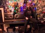Sandveiss Daniel Girard test lighting shot - Bovine Sex Club, Toronto - November 27th, 2015 - Photo by Mike Bax