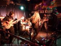 Sandveiss - Bovine Sex Club, Toronto - November 27th, 2015 - Photo by Mike Bax