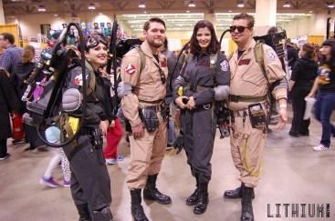 Toronto ComiCon 2016 Ontario Ghostbusters