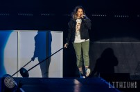 16-05-18 - Toronto - Canadian pop superstar JUSTIN BIEBER brought his Purpose Tour to the Air Canada Centre. Opening the show was POST MALONE and MOXIE RAIA. Pictured: Moxie Raia. (c) 2016 - Darren Eagles Photography