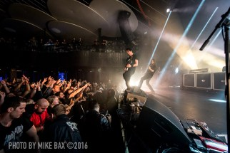 Gojira - Rebel, Toronto - October 20th, 2016 - photo Mike Bax