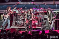 Kiss performing unmasked on The Kiss Kruise