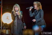Stevie Nicks performs at The Air Canada Centre in Toronto